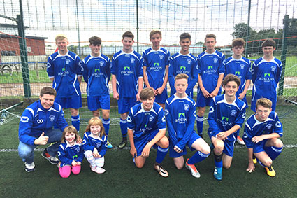 Community Projects - Stratford Town FC Colts Team Kit Sponser - Image 2
