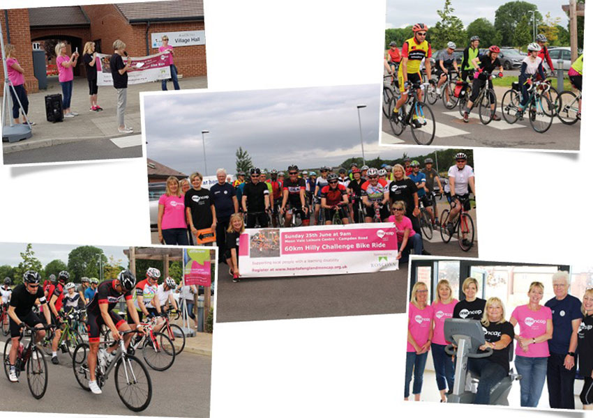 Foundation - News - Hilly Challenge Bike Ride 2017