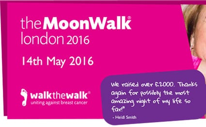 Foundation - News - Moonwalk for Breast Cancer - Featured Image