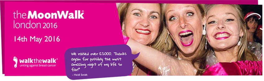 Foundation - News - Moonwalk for Breast Cancer - Image