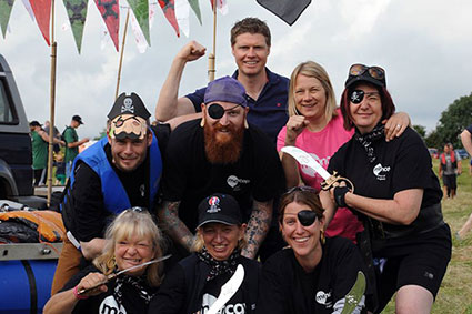 Foundation - News - Stratford Town's 40th Annual Charity Raft Race